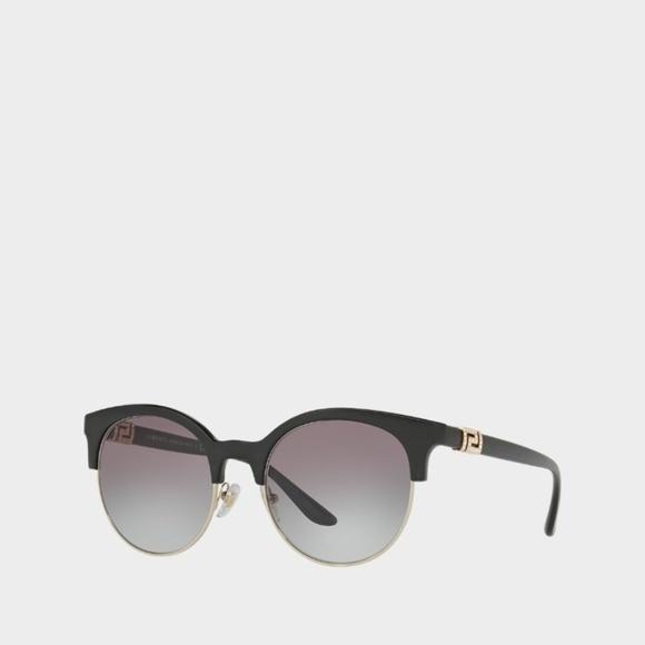 Black Greek Crystal Sunglasses Versace Versace Crystal Black n0PXwO8Nk